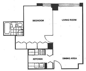 floorplan for 220 East 65th Street #8A