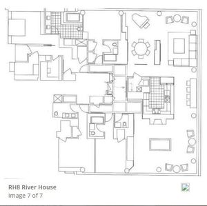 floorplan for 2 River Terrace, #PH8