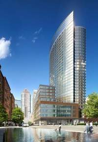 The Visionaire at 70 Little West Street in Battery Park City
