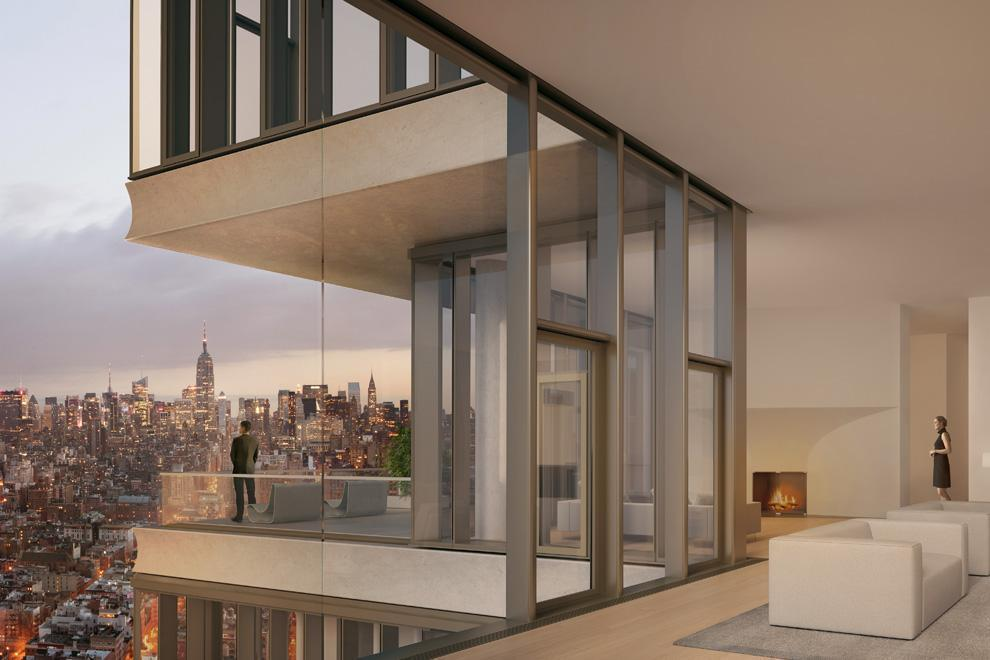 Apartment / Flat / Unit | 56 Leonard Street #PH52B, New York, NY 3