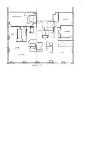 floorplan for 2 River Terrace #27AB