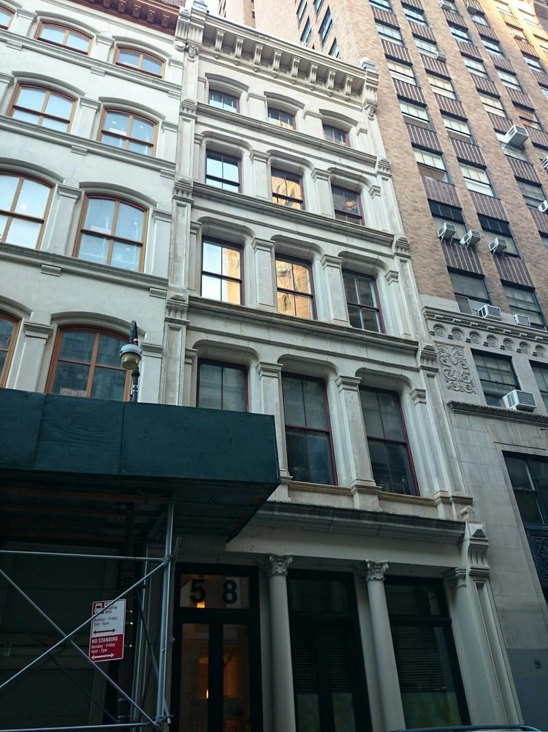 58 Walker St In Tribeca Sales Rentals Floorplans