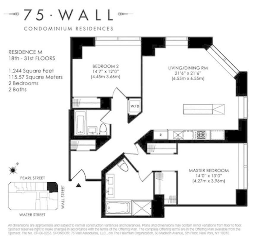 75 wall street 20m in financial district manhattan for 14 wall street 23rd floor