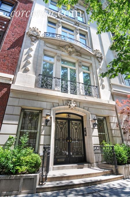 15 east 80th street townhouse in upper east side for Townhouse for sale in manhattan