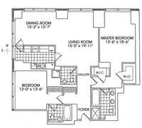 floorplan for 845 United Nations Plz #22E