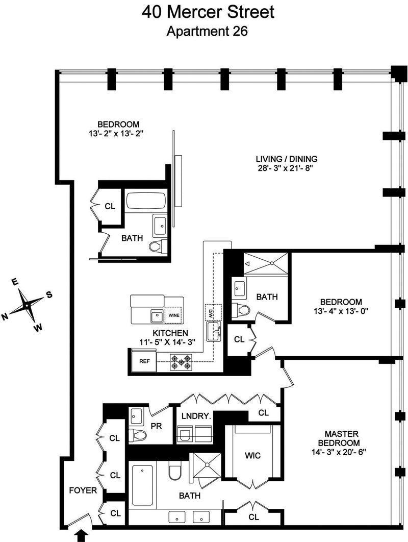 Apartment deluxe floor plans on pinterest penthouses for Apartment plans book