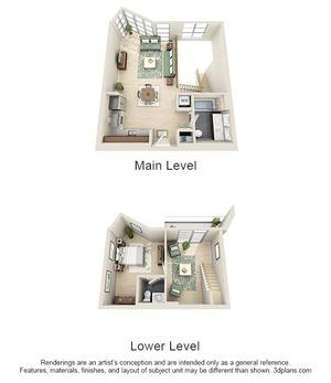 floorplan for 111 Kent #1F