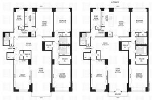 floorplan for 150 East 69th Street #7K