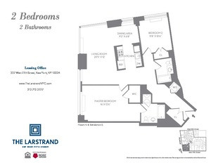 floorplan for 227 West 77th Street #7G