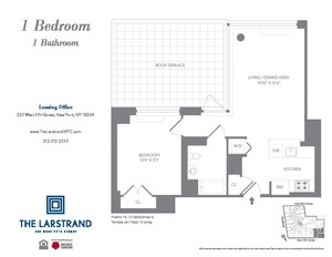 floorplan for 227 West 77th Street #17B