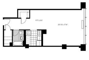 floorplan for 50 Murray Street #0005