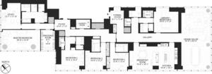 floorplan for 157 West 57th Street #54B
