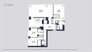 floorplan for 157 West 57th Street #42A