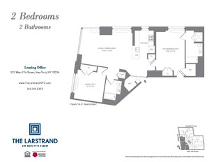 floorplan for 227 West 77th Street #21C