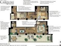 floorplan for 60 West 23rd Street