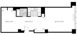 floorplan for 50 Murray Street #0010