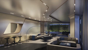 520 west 28th by zaha hadid at 520 west 28th st in west for Zaha hadid new york apartment