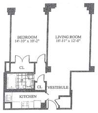 floorplan for 30 Park Avenue