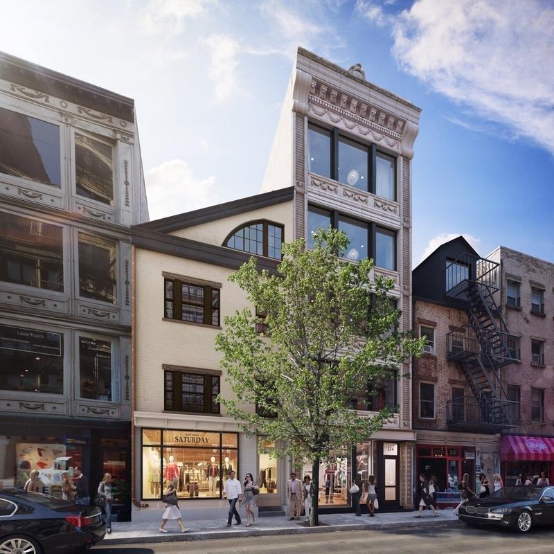 New York City Apartment Streets: 154 Spring St. In Soho : Sales, Rentals, Floorplans