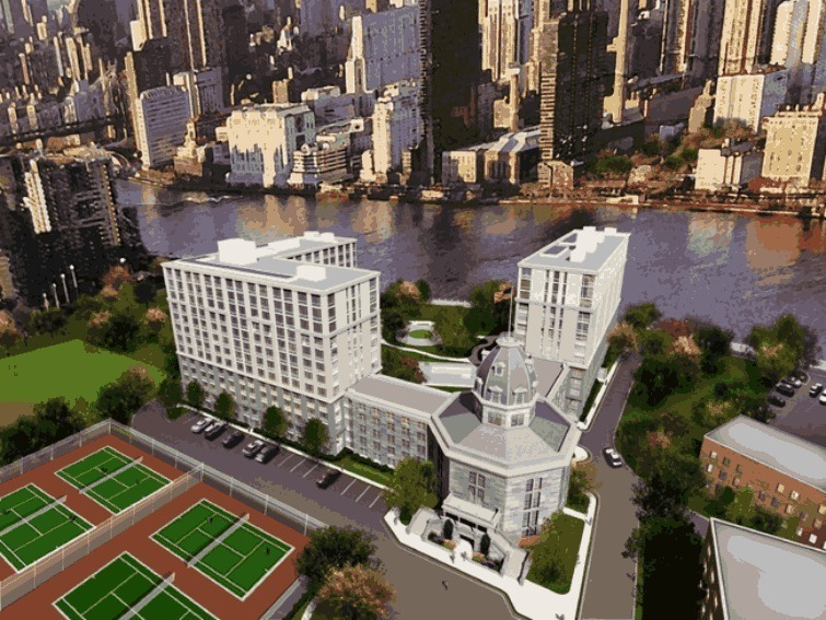 The Octagon At 888 Main St In Roosevelt Island Sales