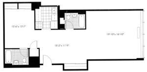 floorplan for 50 Murray Street #0011