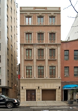 232 east 63rd st in lenox hill sales rentals for Townhouse with garage nyc