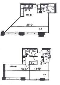 floorplan for 2 Cornelia Street