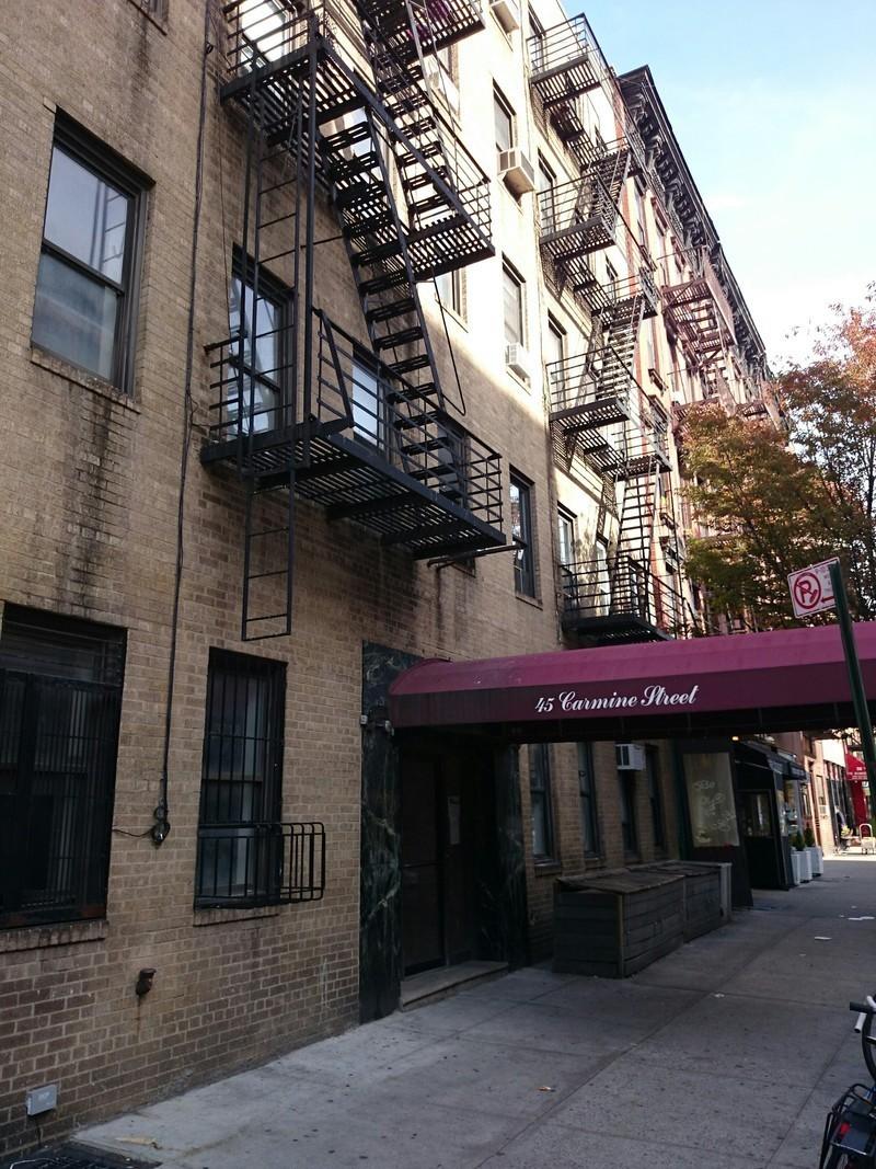 45 carmine street in west village manhattan naked for Manhattan west village apartments
