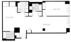 floorplan for 50 Murray Street #0006
