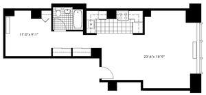 floorplan for 50 Murray Street #0016