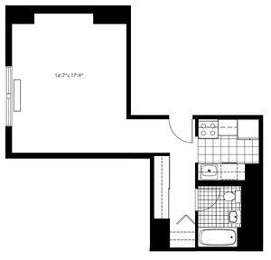 floorplan for 50 Murray Street #025