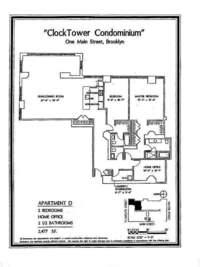 floorplan for 1 Main Street #5D